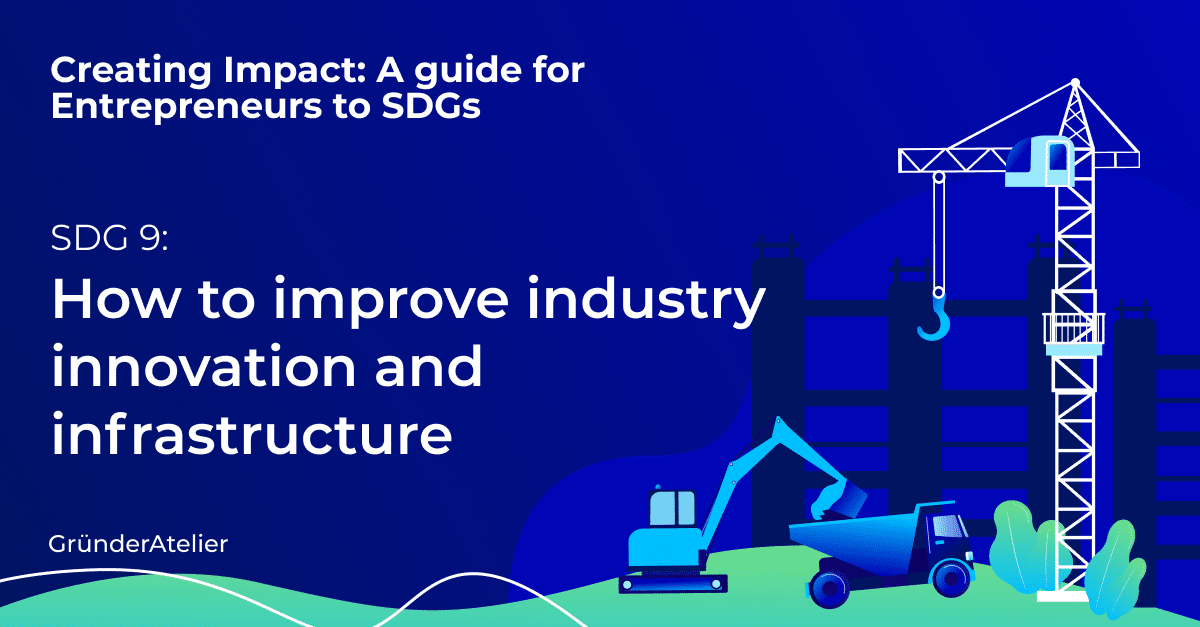 How to improve industry innovation and infrastructure